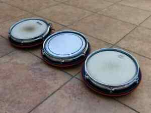 "Ddrum pad 3 x 10"" electronic Tom vintage"