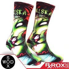 Chelsea par wodsox   respirant amorti wod chaussettes taille uk 7-11   crossfit