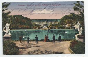 Stuttgart, Kgl. Schloss u. Anlagensee - Feldpost gel. 1918