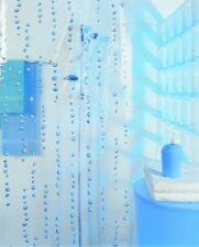 Hydro Ciel Transparent Blau Duschvorhang 180 x 200 cm. Vinyl Top Markenprodukt