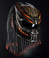 Predator Helmet Motorcycle Custom FULL FACE & FREE SHIPPING