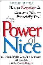 THE POWER OF NICE  - MARK A. JANKOWSKI, ET AL. RONALD M. SHAPIRO (PAPERBACK) NEW