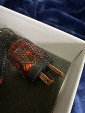 Audio/Video Superb Power Cable 10AWG OFC Copper 1Mtr/3.3ft SEALED NEW in BOX !