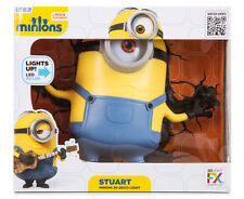 Despicable Me Minions Stuart 3d Deco LED Wall Night Light Crack Sticker