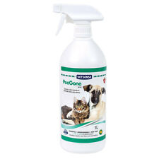 NEW Vetsense PeeGone Pet Stain and Odour Remover Spray 1L Apple Scent