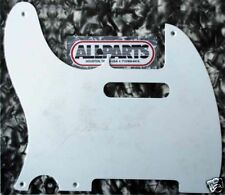 PICKGUARD TELECASTER US 1ply GAUCHER BLANC  Lefty White PG0560-L25