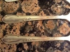 (17) Wm. A. Rogers Meadowbrook Heather Silver Plate Flatware Mixed Lots