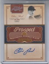 2011 Playoff Prime Cuts Prospect Chris Reed Autograph 141/299 NM Condition