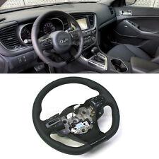 OEM Part Sports Steering Wheel CUT D-SHAPED For KIA 2011 2015 Optima / K5 Trubo