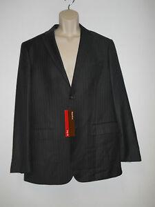 Perry Ellis New Mens Principles Charcoal Blazer City Fit 42 Regular NWT