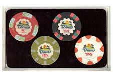 The Dunes Las Vegas Casino Collector Poker Chip Set  Authentic Dunes Chips *