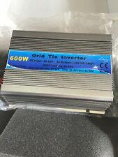 600W Grid Tie Inverter 110V Use 20V-55Vdc Solar panel Pure Sine Wave USA Seller!