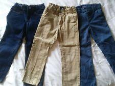 Boys pant lot 3 pairs chino jean Gap Children's Place Khaki Blue 5 5s