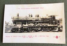 CPA. C 103. Locomotives Françaises. Etat. Machine N°230-813.