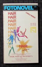 1979 HAIR THE FILM 1st Fotonovel Paperback FVF 7.0 Lyrics Inside Photos