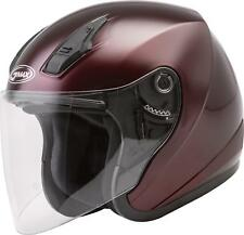 GMAX OF-17 OPEN-FACE HELMET WINE RED MD G317105N
