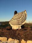 Ombre Mandala Round Roundie Beach Throw Indian Tapestry Hippie Yoga Mat Shawl