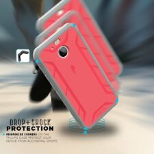 POETIC Revolution X-form case  w/ Built-In Screen Protector for HTC Bolt Pink