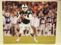 Brian Lewerke Autographed Michigan State Football 8x10 Photo Coa Spartans