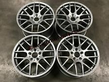 "18"" Avant Garde M359 1M Concave Wheels Quartz Silver E90 E91 E92 E93 3 Series"