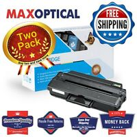 Max Optical 2Pack Dell 331-7328 High Yield Compatible Toner- Black