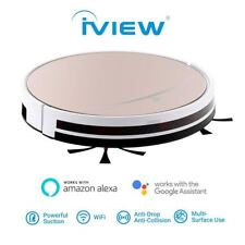iView Smart WiFi Robot Vacuum, Floor Mopping, Remote App Control | MaxStrata