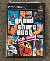 Sony PS2 Grand Theft Auto Vice City Video Game  PlayStation 2.