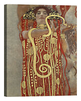 QUADRO Gustav Klimt Medicina Stampa su tela Canvas effetto dipinto