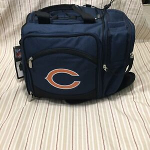 Picnic Time Chicago Bears Malibu Cooler Tote - Navy Blue (MSRP $142)