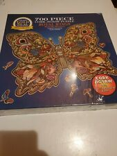 """Butterfly Puzzle ROYAL WINGS Bits & Pieces Cork Jigsaw 700 Pieces 20"""" x 27"""" NEW"""