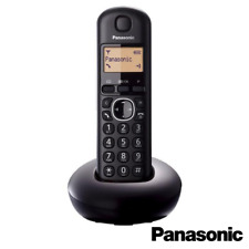 PANASONIC TGB210 DIGITAL CORDLESS DECT HOME TELEPEHONE SINGLE BLACK ALARM