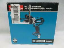 "Makita Xph03Z 18V Li-Ion 1/2"" Cordless Drill/Driver Kit"