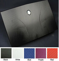 KH Laptop Carbon fiber Leather Sticker Skin Cover for Alienware M11x R1 R2 R3