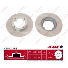 Bremsscheibe, 1 Stück ABE C38001ABE