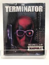 New Blu Ray The Terminator Deadpool Photobomb Slip Cover Movie Cash