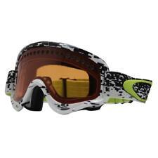 Oakley 57-767 XS O Frame Pixel Fade Black Persimmon Lens Kids Snow Ski Goggles