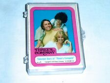 1978 Topps THREE' S COMPANY Sticker Set (44) Mint in Plastic Case