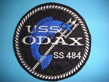 PATCH US NAVY USS ODAX SS-484 TENCH-CLASS SUBMARINE