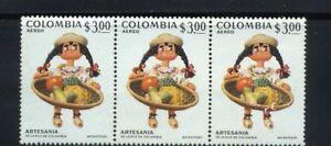 ''CAMPESINA-FRUTAS,-  COLOMBIAN ARTISANTS,-  {3}  1972