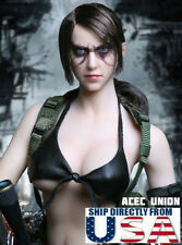 1/6 Metal Gear Solid Quiet Female Sniper Head Sculpt BATTLE VERSION For PHICEN