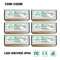 LED Power Supply Driver Transformator 10W 20W 30W 50W 70W 100W IP65 AC85-265V