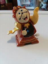 Disney's Beauty and the Beast COGSWORTH the Clock Wind-Up Toy 1991 Burger King