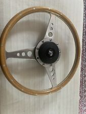 Motalita Triuuph TR6 Steering Wheel With BOSS and CAP 14 Inch