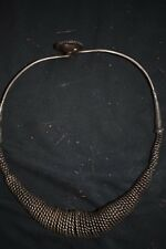 "orig $399.NIAS WARRIOR NECKLACE EARLY 1900S 10"" JEAN LAURENT ESTATE"