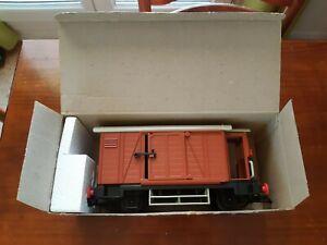 Playmobil Wagon de marchandises (fermé) Réf: 4111-A 1983 vintage