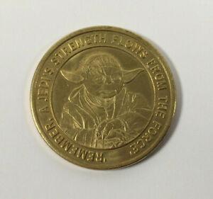 STAR WARS Madame Tussauds London Yoda Coin Token