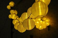 20 LED supfait Solar Outdoor Globe String Lights Warm White Lantern for Garden