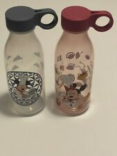 New listing Disney Epcot Chef Mickey & Minnie Mouse Water Bottles Food & Wine Festival