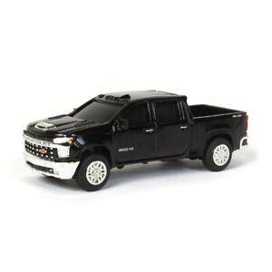 1/64 2020 Chevy Silverado LTZ, Black, Collect N Play by ERTL 47167-1