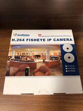 Geovision GV-FE520 5MP Fisheye IP Camera / H.264 / 360° / 180° Panorama / AC,DC,